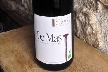 DOMAINE CLAVEL (Bio) AOC Coteaux du Languedoc Cuvée Le Mas 2014